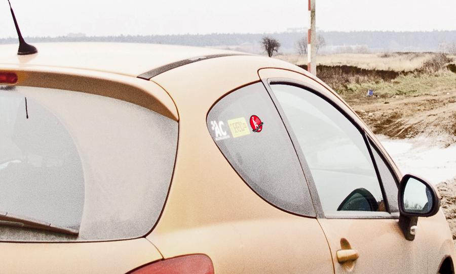 вектор, наклейка, автомобиля, стикер, gas, ass,ride