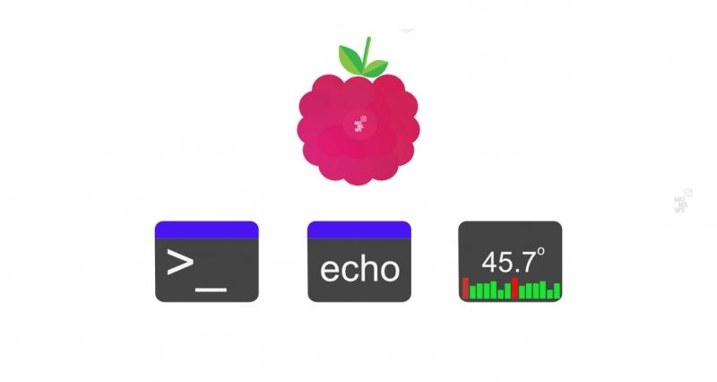 Выводим температуру в Raspberry Pi 4 на панель задач